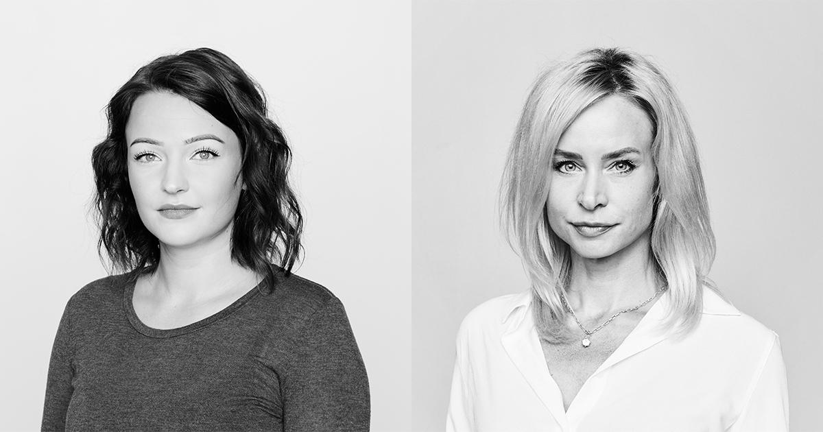 Julia Engström och Cecilia Bödker Pedersen Storasyster