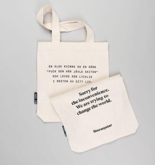 Väska med onsdagspåminnelse