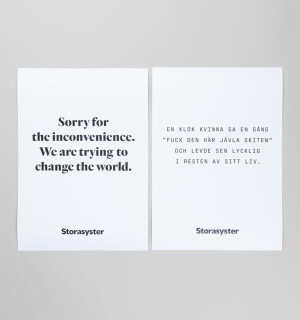 Affischer med citat